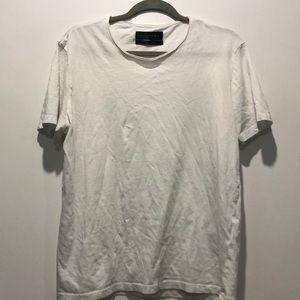 Zara white tee shirt